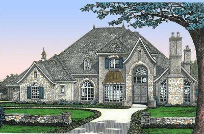 Lap Of Luxury 48228fm Architectural Designs House Plans