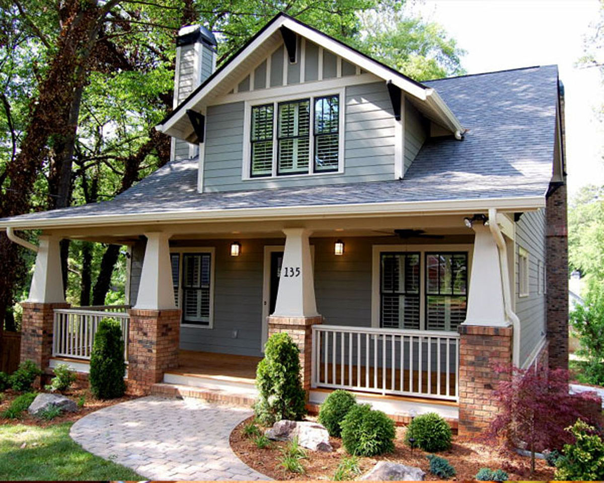 Classic Craftsman Cottage With Flex Room 50102PH