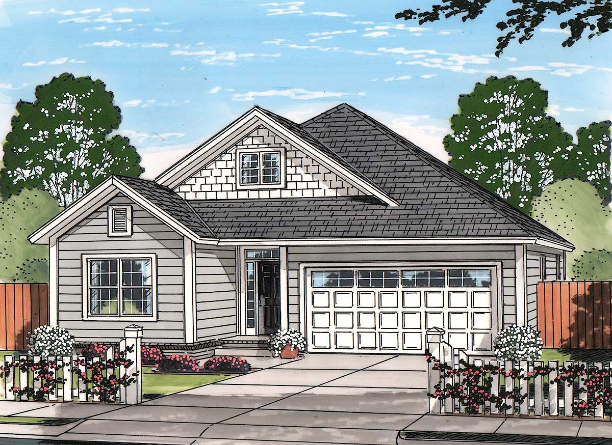 Craftsman Cottage - 52246WM
