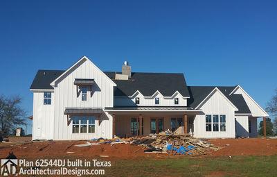 Modern Farmhouse Plan 62544DJ Comes To Life In Texas