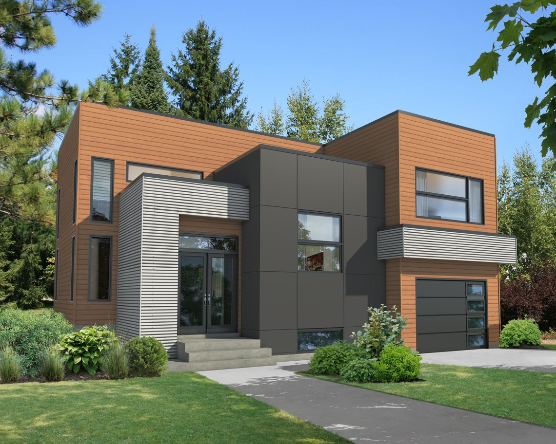 Exciting Modern House Plan - 80787PM | Architectural ...