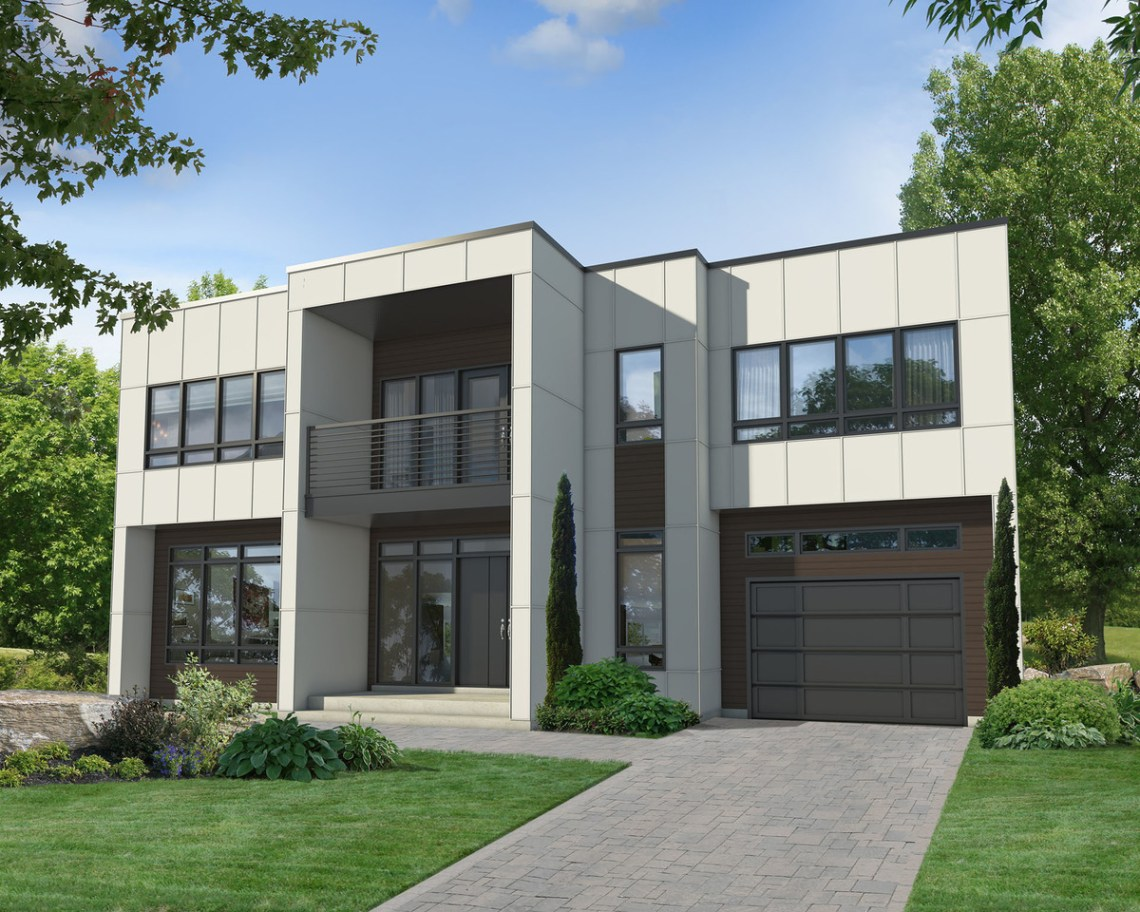 Two-Story Modern House Plan - 80829PM   2nd Floor Master ...