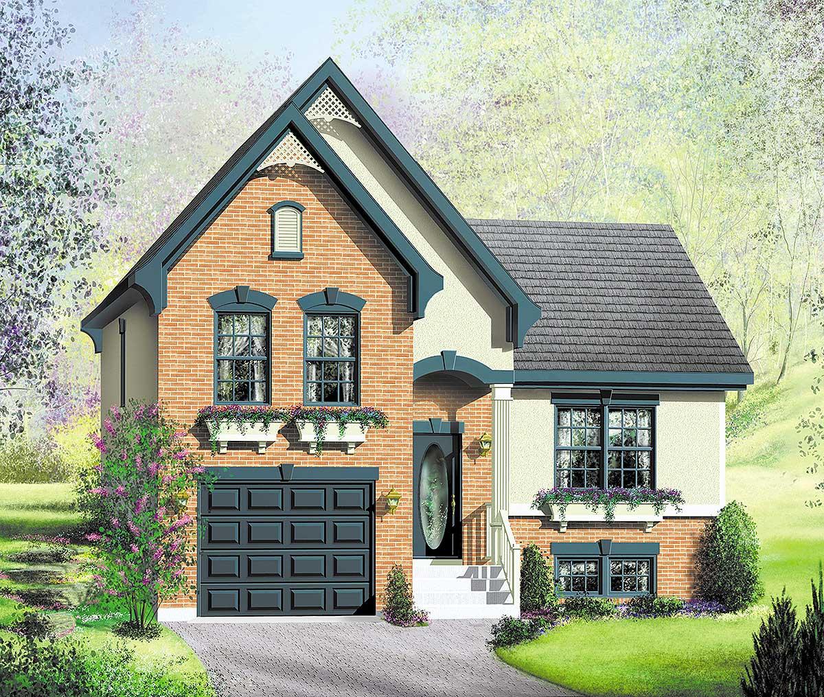 Split Level House Plans