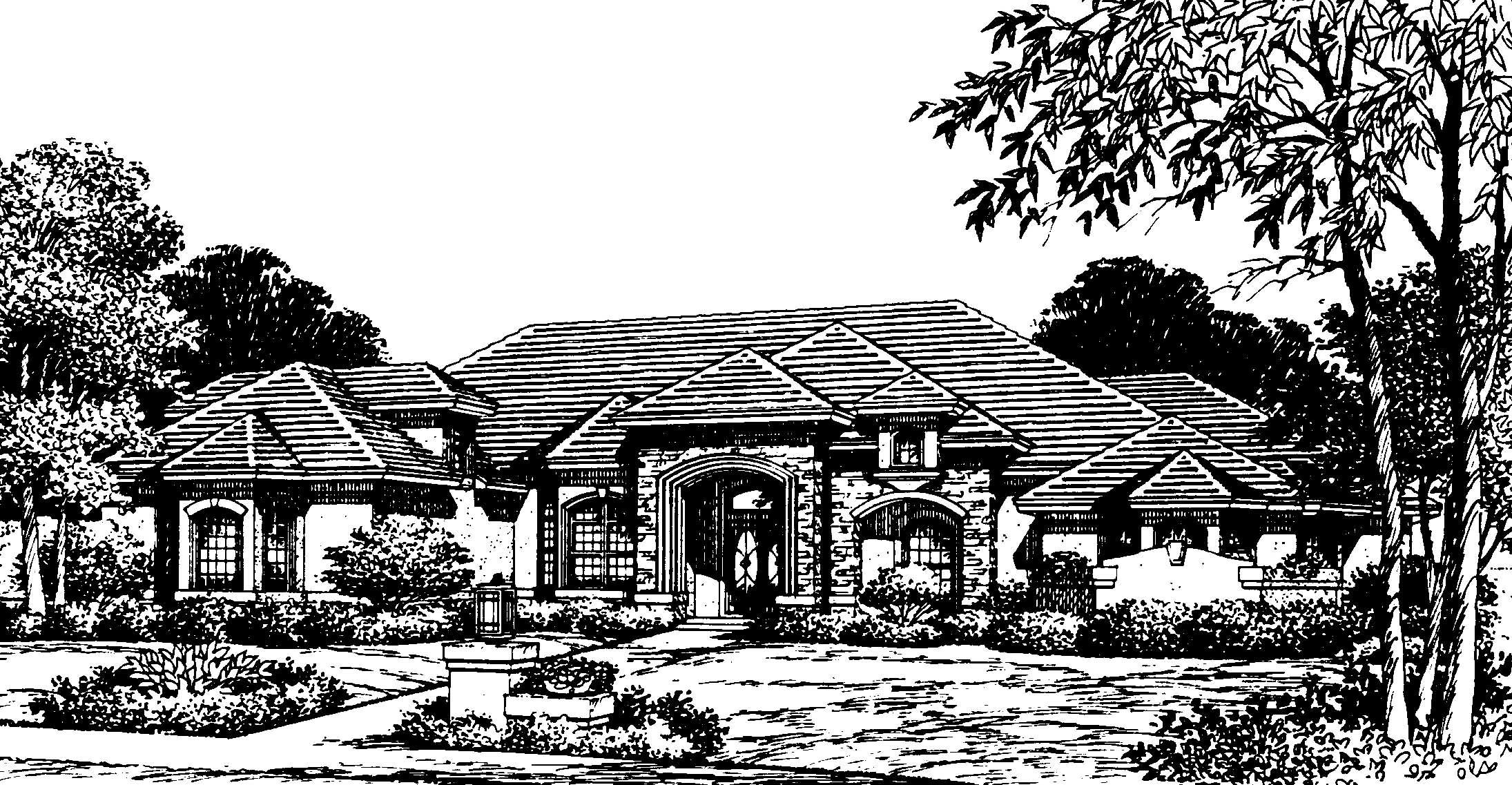 Luxurious European Manor 83307cl Architectural Designs