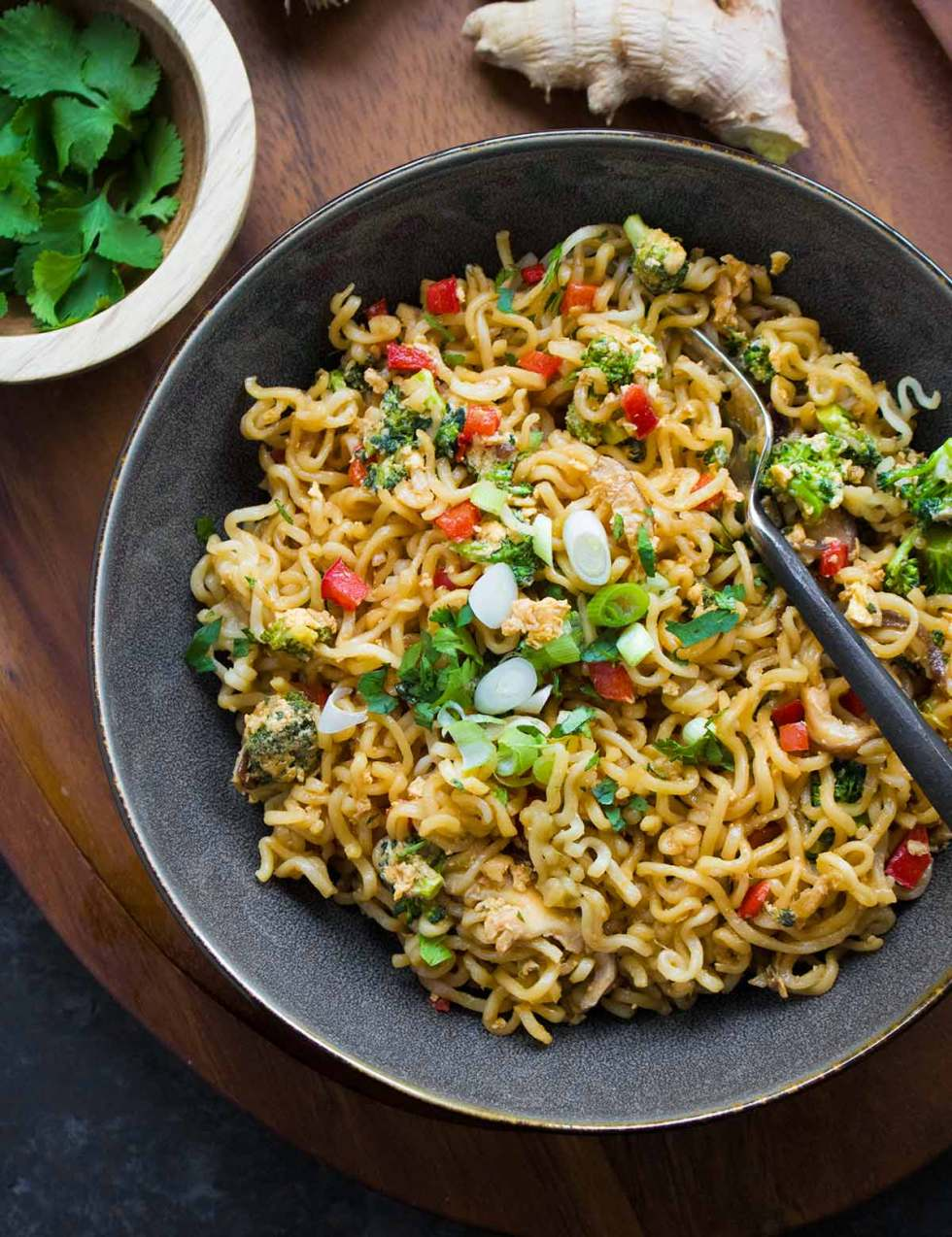 Ramen Noodle Stir Fry, quick and easy weeknight meal, from SoupAddict.com