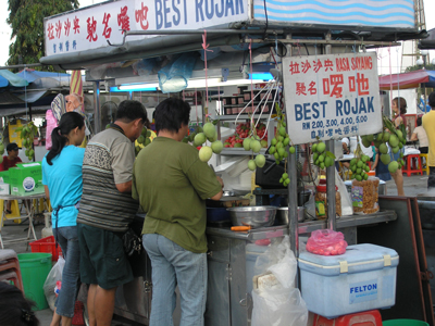 WordPress Templates: Images of Hawker Food for Rojak Store, Gurney Drive, George Town, Penang. Image Size:400x300px