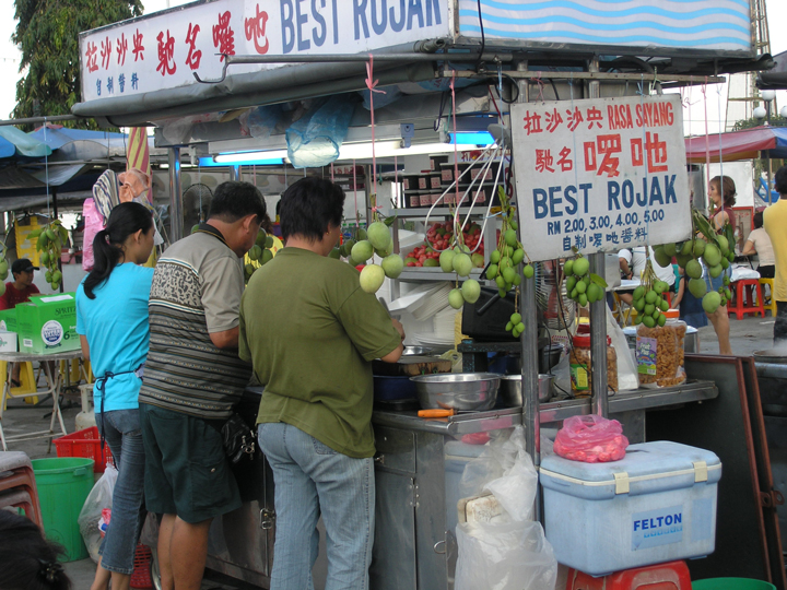 WordPress Templates: Images of Hawker Food for Rojak Store, Gurney Drive, George Town, Penang. Image Size:720x540px