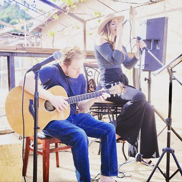 Jenny Lynn James Dempsey making magic together with music