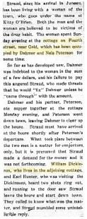 Excerpt of Jan. 23, 1909 article in Alaska Weekly Transcript.