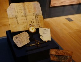 Personal items from passenger Kakuza Tzuzi who was headed to Vancouver aboard the S.S. Princess Sophia.