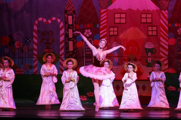 """Image taken during Wednesday night's rehearsal of """"The Nutcracker"""" ballet in Juneau. (Photo courtesy of the Juneau Dance Theatre)"""