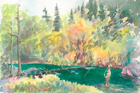 """Situk River Steelhead"" by Mark Vinsel. (Image courtesy of Mark Vinsel)"