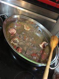 Melanie Brown's moose bone soup. (Image courtesy of Melanie Brown)