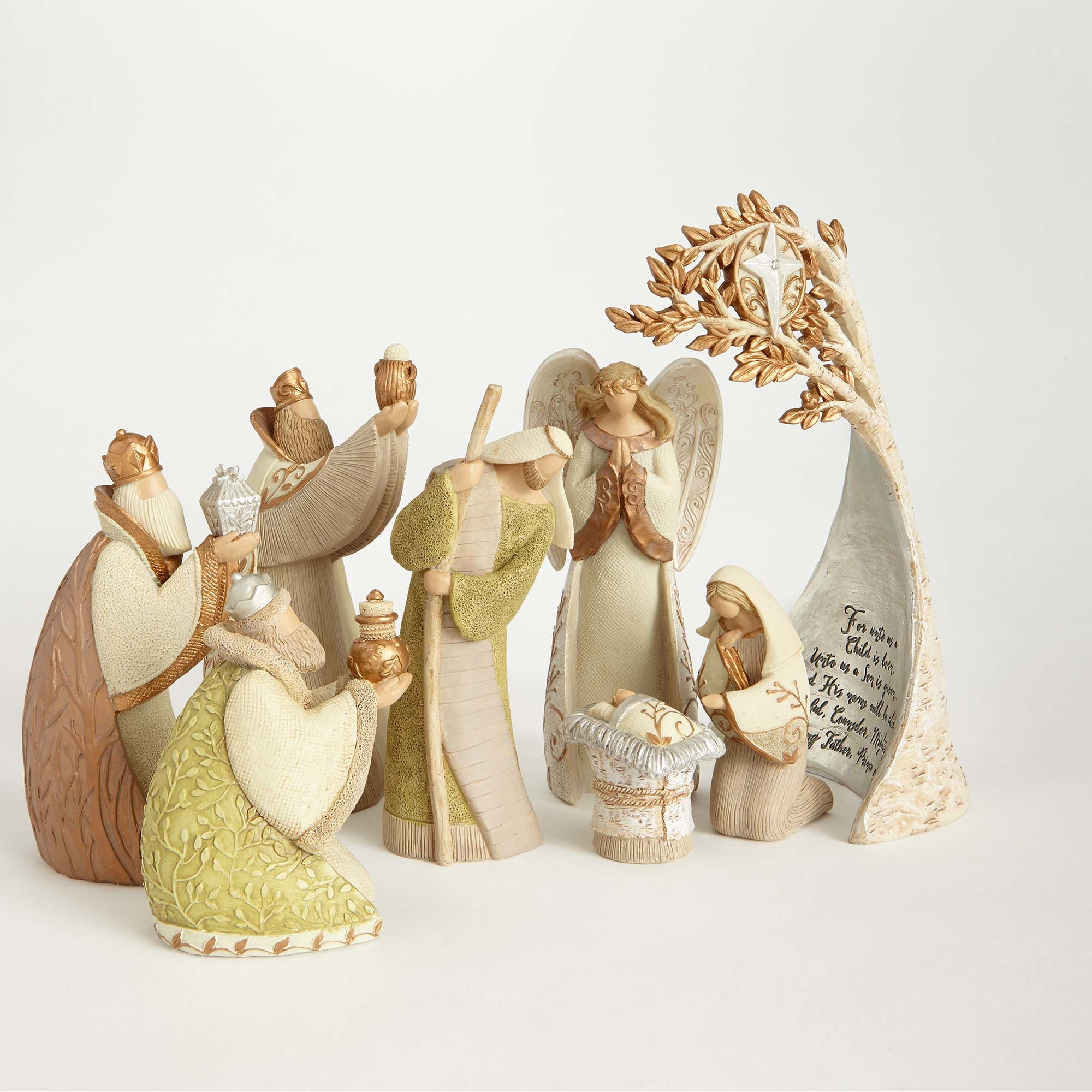 Legacy Of Love Nativity Figurine Set In Nativities