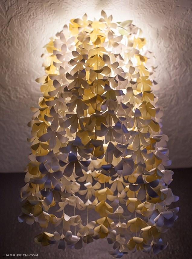 Paper Flower Light Cover