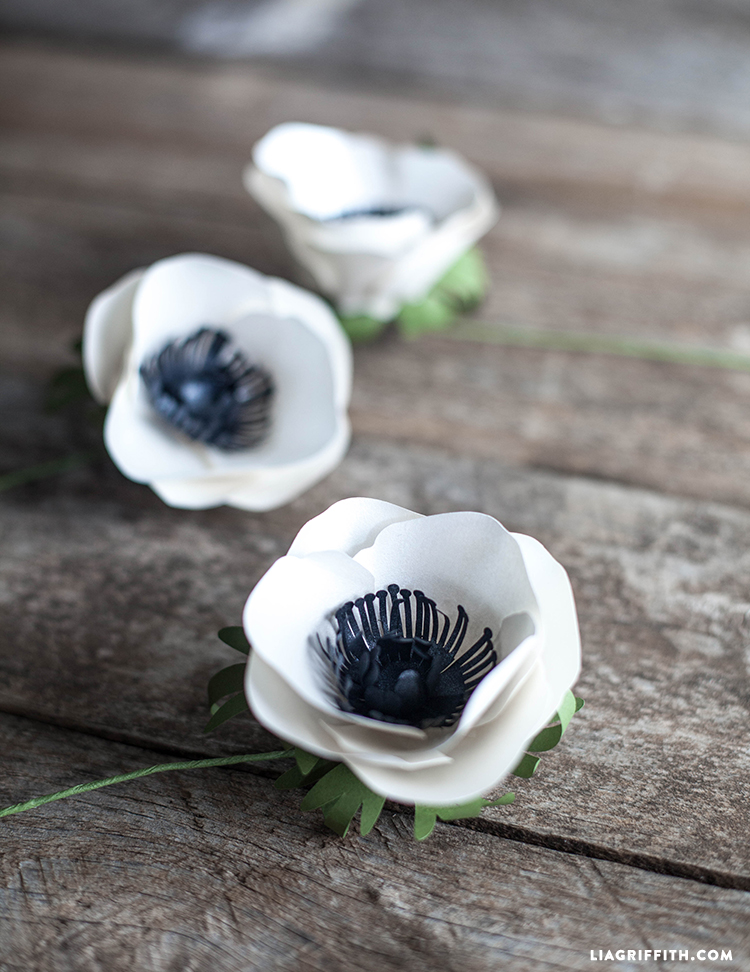 My Best Paper Flower Anemone Lia Griffith