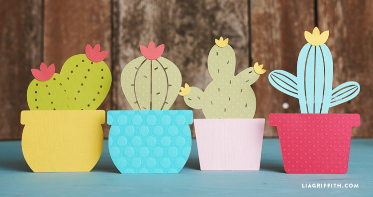 Paper Cactus Garland Lia Griffith