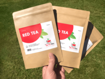 Weight loss with red tea
