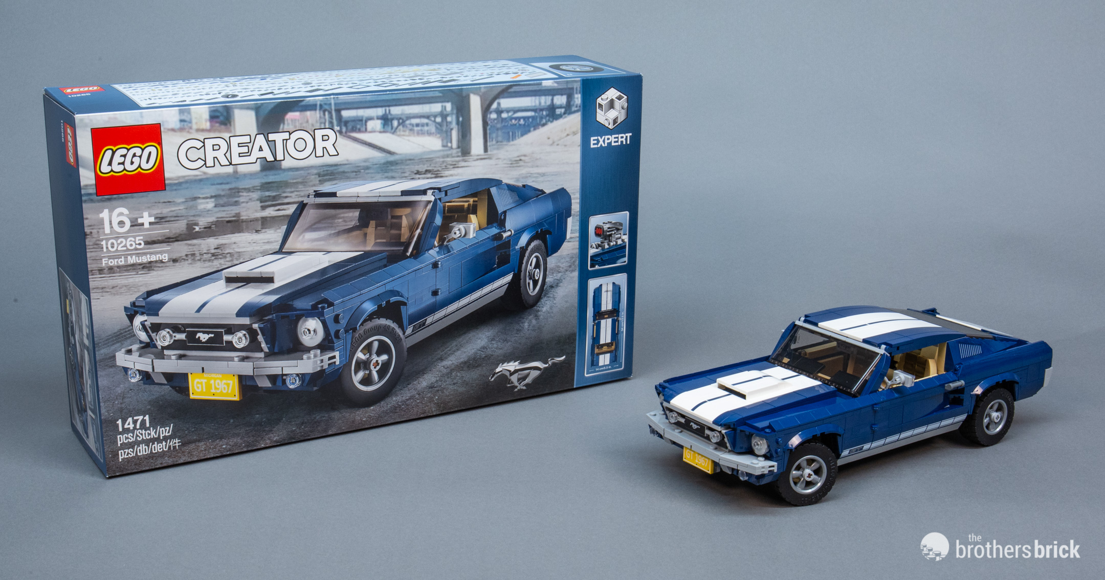 10265 LEGO Creator Expert Ford Mustang Review 3 The