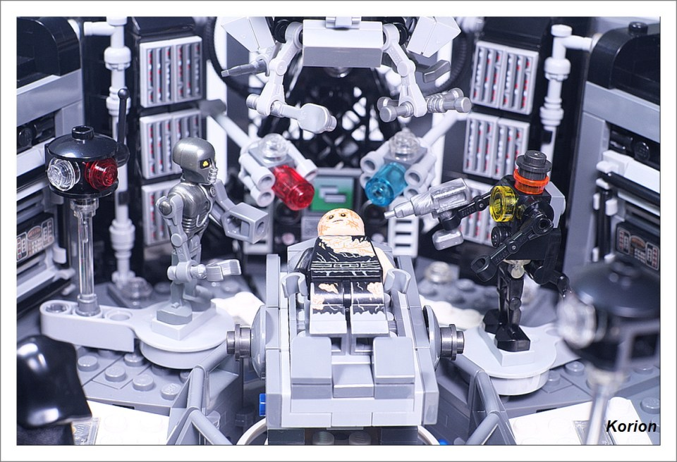 Darth Vader Transformation By Korion 3 The Brothers Brick The