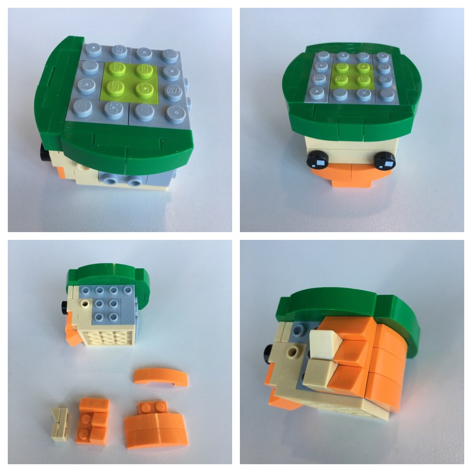 LEGO BrickHeadz Leprechaun instructions - Step 3