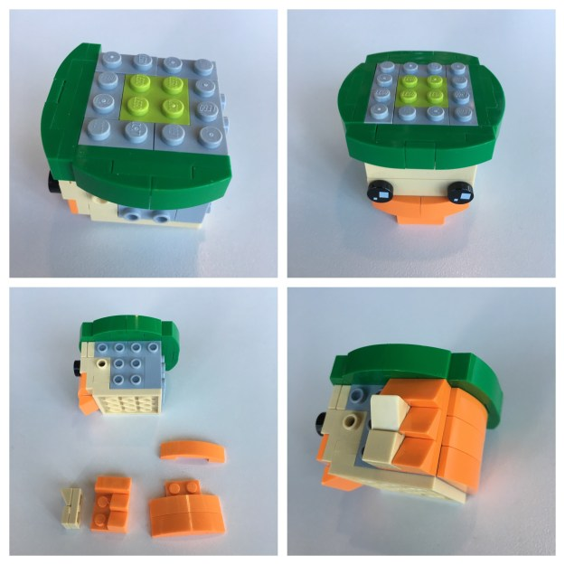 LEGO BrickHeadz Leprechaun instructions - Step 3