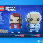 41611 Back To the Future BrickHeadz Box Front 2