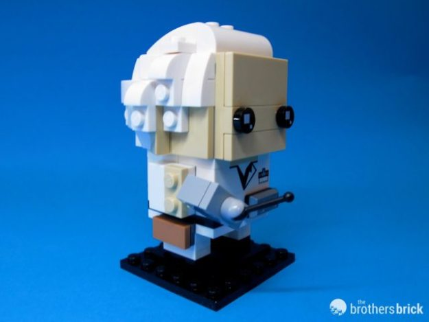 41611 Back To the Future BrickHeadz Doc Facing Right