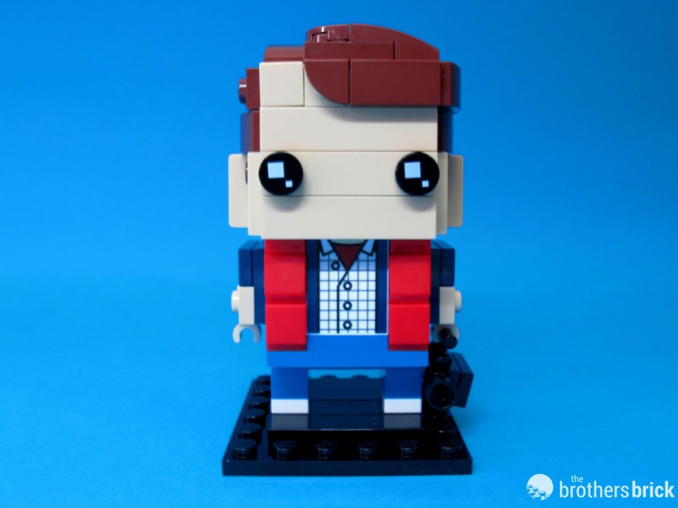 41611 Back To the Future BrickHeadz Marty Facing Front