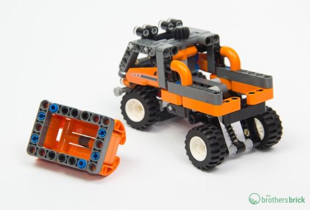Cargo box for little Technic truck
