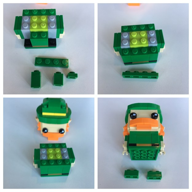 LEGO BrickHeadz Leprechaun instructions - Step 7