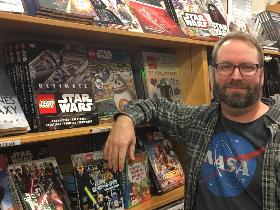 Ultimate LEGO Star Wars book at Powell's