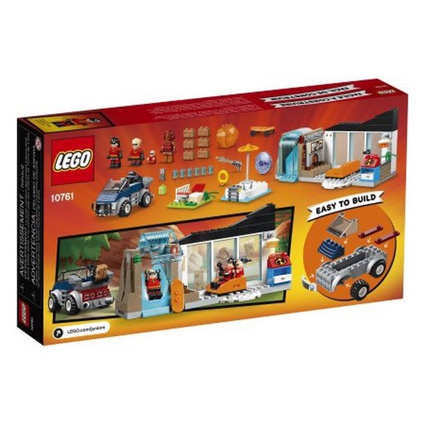 LEGO Juniors - Incredibles 2 - 10761 The Great Home Escape - Box Back