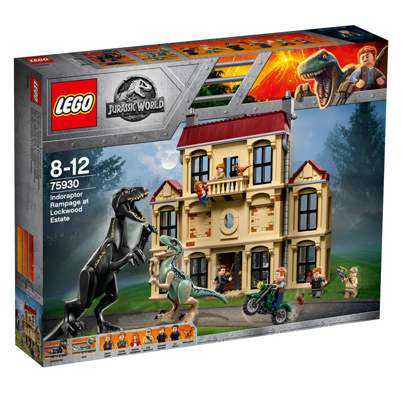 LEGO Jurassic World-75930-Indoraptor Rampage at Lockwood Estate 1