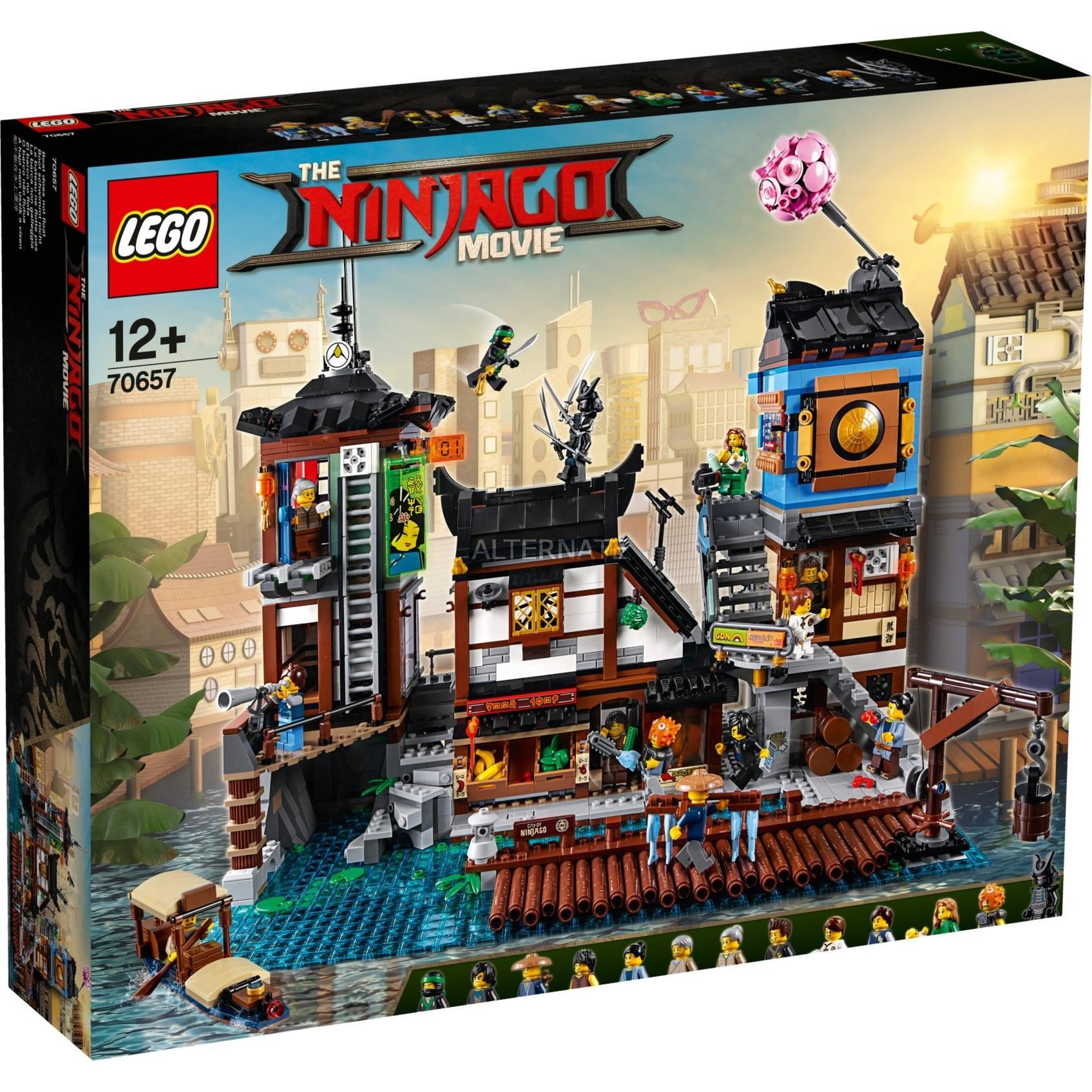 LEGO Ninjago 70657 NINJAGO City Docks revealed [News ...
