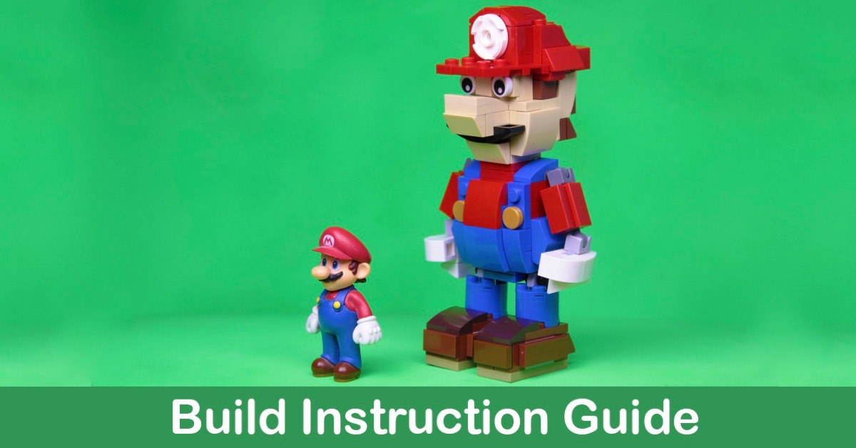 Build Your Own Lego Mario Instructions The Brothers Brick The