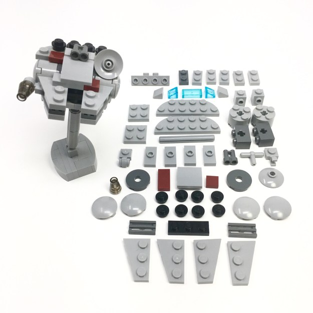 Poseable Micro Millennium Falcon Instructions The Brothers Brick