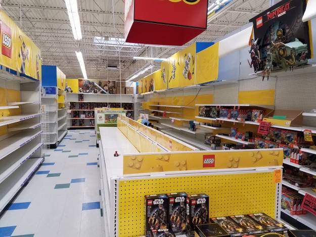 Toys R Us, In Store