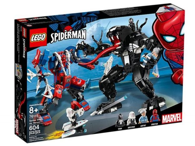 new wave of lego spider man sets now available for purchase news
