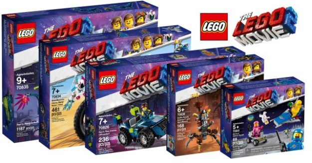 nineteen new sets revealed from the lego movie 2 news the