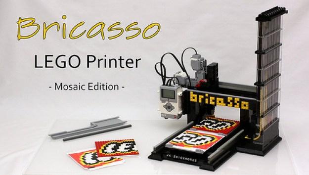 Bricasso - LEGO Mosaic Printer