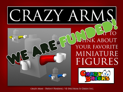 Crazy Arms on Kickstarter