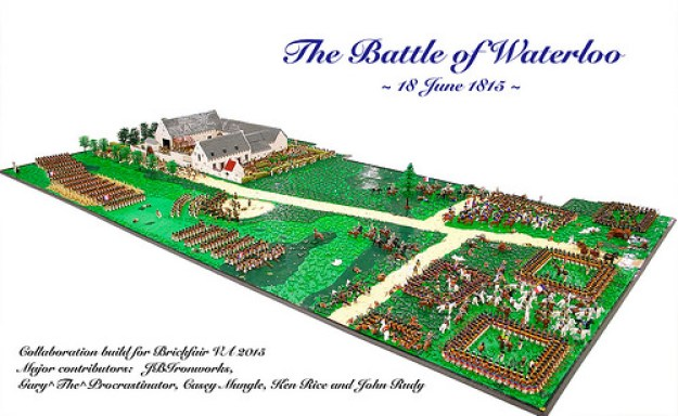 Battle of Waterloo Diorama