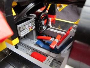 PORSCHE 962C: cockpit