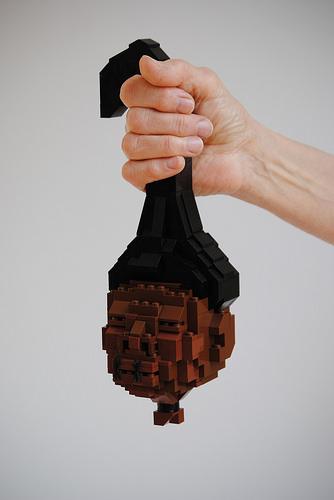 Lego Shrunken Head