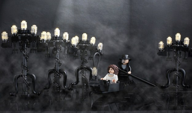 LEGO Phantom Opera Theatre Scene