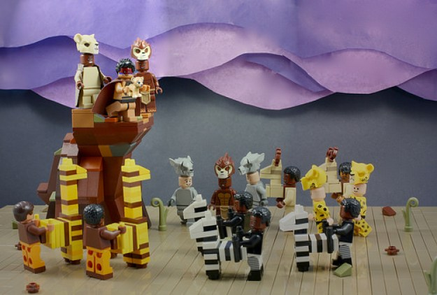 LEGO The Lion King Theatre Scene