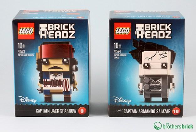 41593 Captain Jack Sparrow and 41594 Captain Armando Salazar