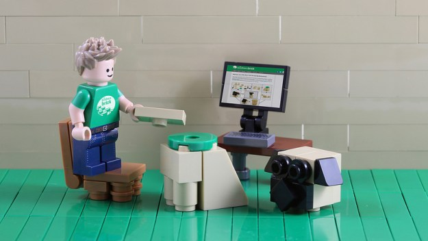 LEGO instructions on TBB