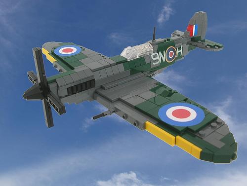 LEGO Spitfire